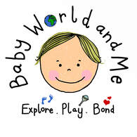 Baby World and Me Twistin Tots Logo